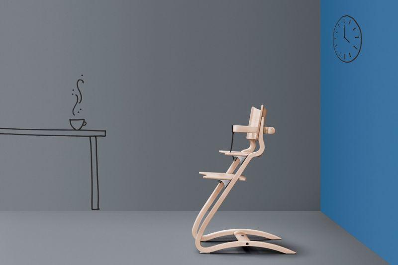 leander hochstuhl ohne b gelset 100090. Black Bedroom Furniture Sets. Home Design Ideas