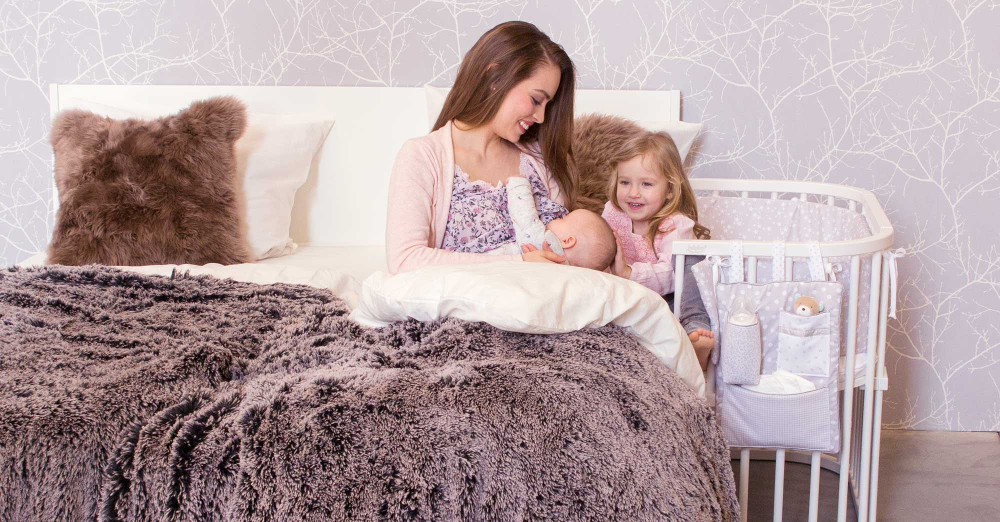 Beistellbett zwillinge  babybay Beistellbett Maxi Gesund Schlafen & Stillen Betten